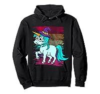 Halloween Unicorn Pride Colors Shirts Hoodie Black