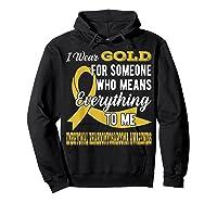 Means Everything Embryonal Rhabdomyosarcoma Shirts Hoodie Black