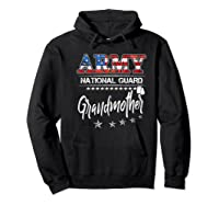 Army National Guard Grandmother Of Hero Military Family Shirts Hoodie Black