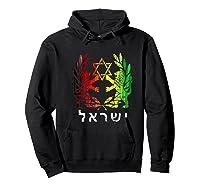 King Judah Lion Israel Hebrew Israelite Clothing Shirts Hoodie Black