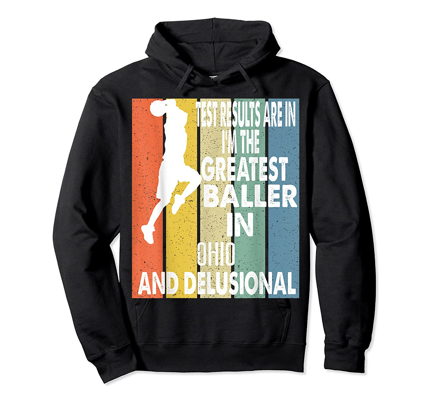 The Greatest Baller In Ohio Basketball Player T-shirt Unisex Pullover Hoodie
