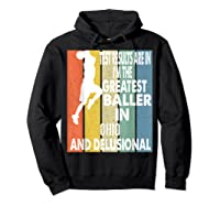 The Greatest Baller In Ohio Basketball Player T-shirt Hoodie Black