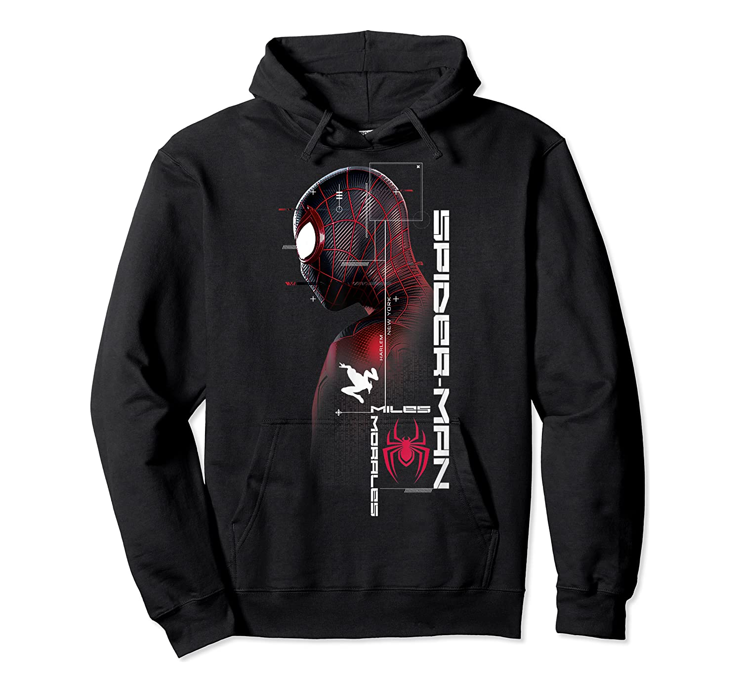 Spider Man Miles Morales Specs Shirts Unisex Pullover Hoodie