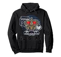 Hip Hop Bling King Shirts Hoodie Black