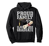 Class Of 2018 Shirt Graduate Graduation Proud Family Hoodie Black