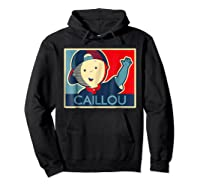 Caillou T Shirt Hoodie Black