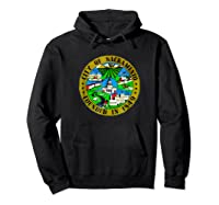 Sacrato California City Seal I Love Sacrato Pride Shirts Hoodie Black