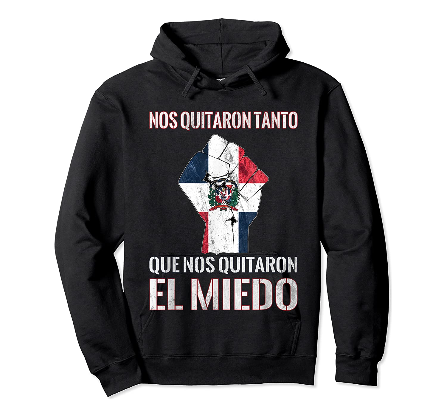 Dominican Republic Flag Fist Dominican Election 2020 Protest T-shirt Unisex Pullover Hoodie