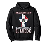 Dominican Republic Flag Fist Dominican Election 2020 Protest T-shirt Hoodie Black