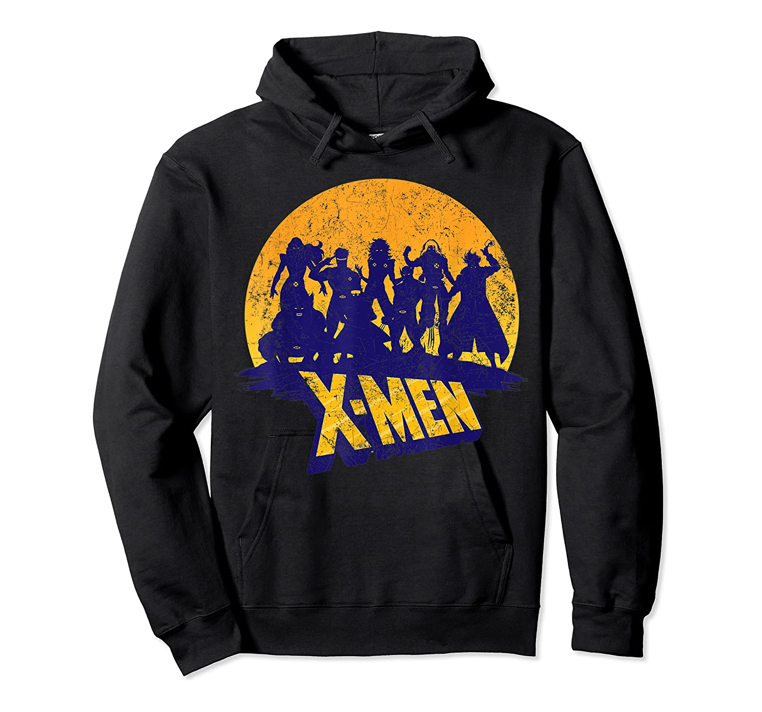 Marvel X- Logo And Mutants Classic T-shirt Unisex Pullover Hoodie