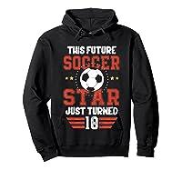 10th Birthday Soccer Birthday Boy Shirts Hoodie Black