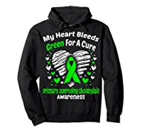 For A Cure Primary Sclerosing Cholangitis Awareness Shirts Hoodie Black