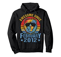 Lion 2012 Awesome February 8th Birthday Gifts King T-shirt Hoodie Black