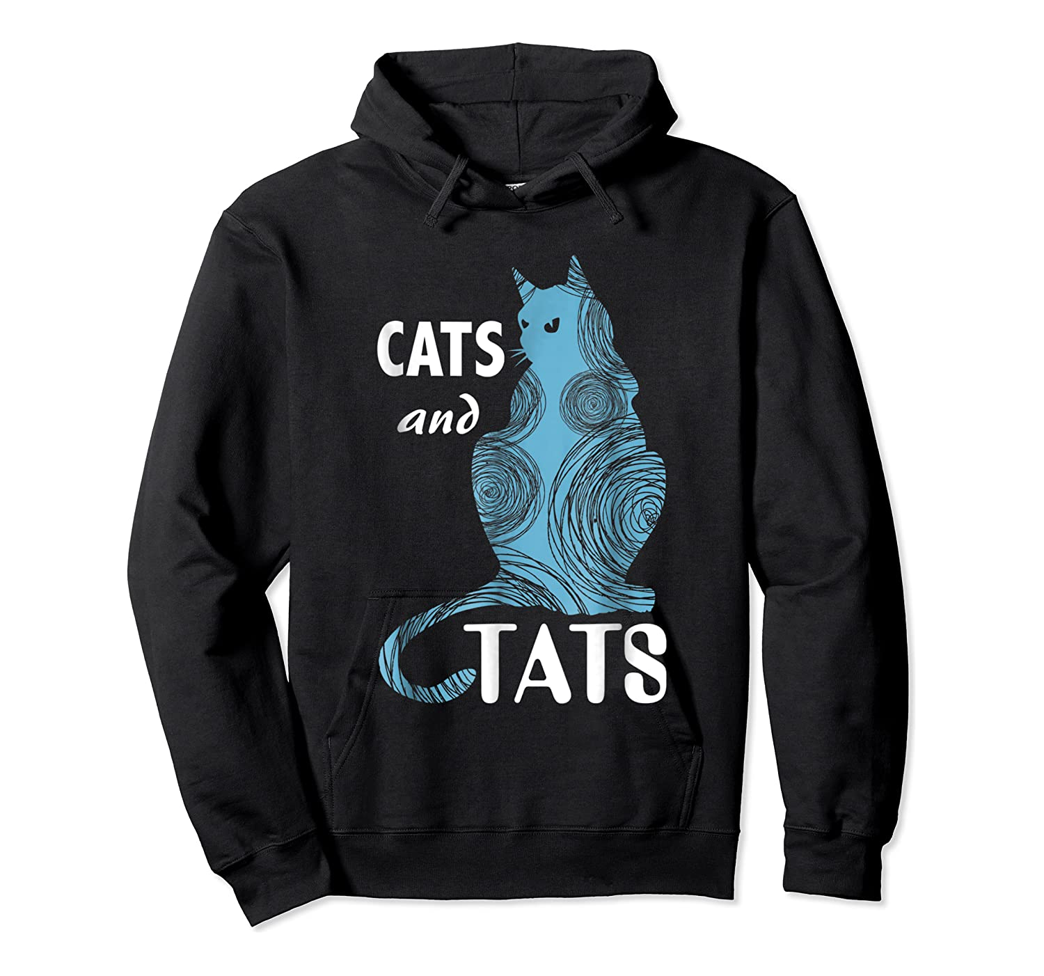 Tattoo Cats And Tats Tattoos Shirts Unisex Pullover Hoodie
