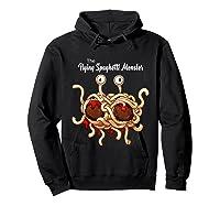 Flying Spaghetti Monster Pastafarian Vintage Shirts Hoodie Black