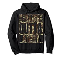 Straight Outta Army Veteran American Military Pride Gift Shirts Hoodie Black