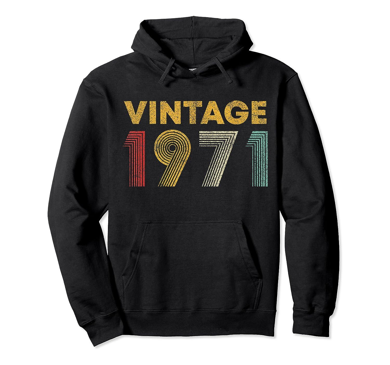 49th Birthday Gift Idea Vintage 1971 Shirts Unisex Pullover Hoodie
