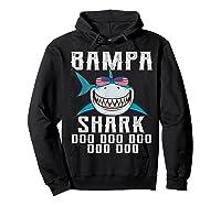 Bampa Shark Doo Doo Shirt - Matching Family Shark Shirts Hoodie Black