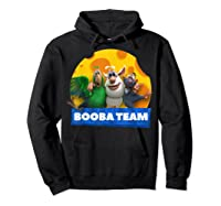 Booba Team Friendship Cheese For Girls Birthday Gift Shirts Hoodie Black
