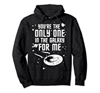 Star Trek Only One For Me Valentine's Day Graphic Shirts Hoodie Black