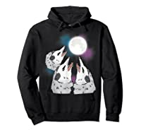 Three Opossum Moon S Shirts Hoodie Black