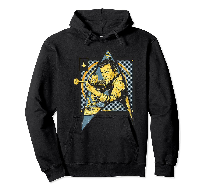 Star Trek Captain James Tiberius Kirk Fan Art Shirts Unisex Pullover Hoodie