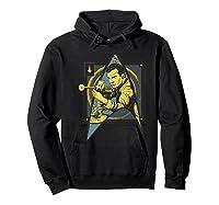 Star Trek Captain James Tiberius Kirk Fan Art Shirts Hoodie Black