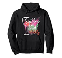 Paint And Sip Art Night Party Wine Canvas Wild Fun Shirts Hoodie Black