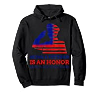 S Being A Veteran Is An Honour Being A Dad Is Priceless T-shirt Hoodie Black