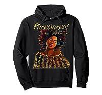 Phenoal Natural Hair Gift For Black Woman Shirts Hoodie Black