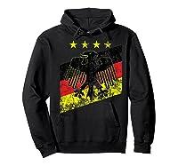 Germany Soccer Style Deutschland 1990 Shirts Hoodie Black