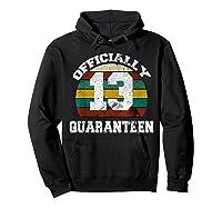 13th A Quarann Retro Birthday Quarantine N Shirts Hoodie Black