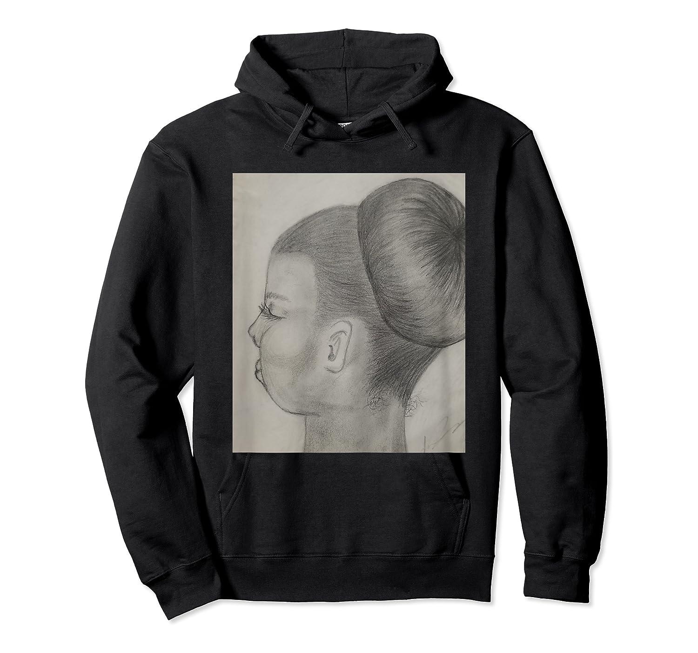 Ballet Bun T-shirt Unisex Pullover Hoodie