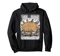 King Arthur & His Knights Of The Round Table, T-shirt Hoodie Black