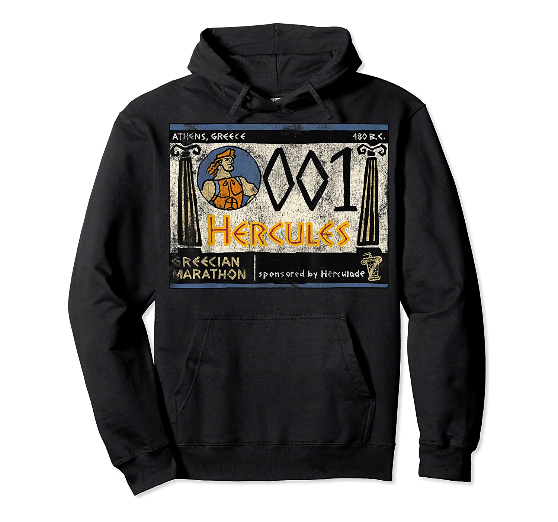 Disney Hercules Grecian Marathon Poster T-shirt Unisex Pullover Hoodie