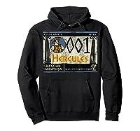 Disney Hercules Grecian Marathon Poster T-shirt Hoodie Black