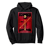 From The Earth To The Moon Jules Verne Book Cover Design Shirts Hoodie Black