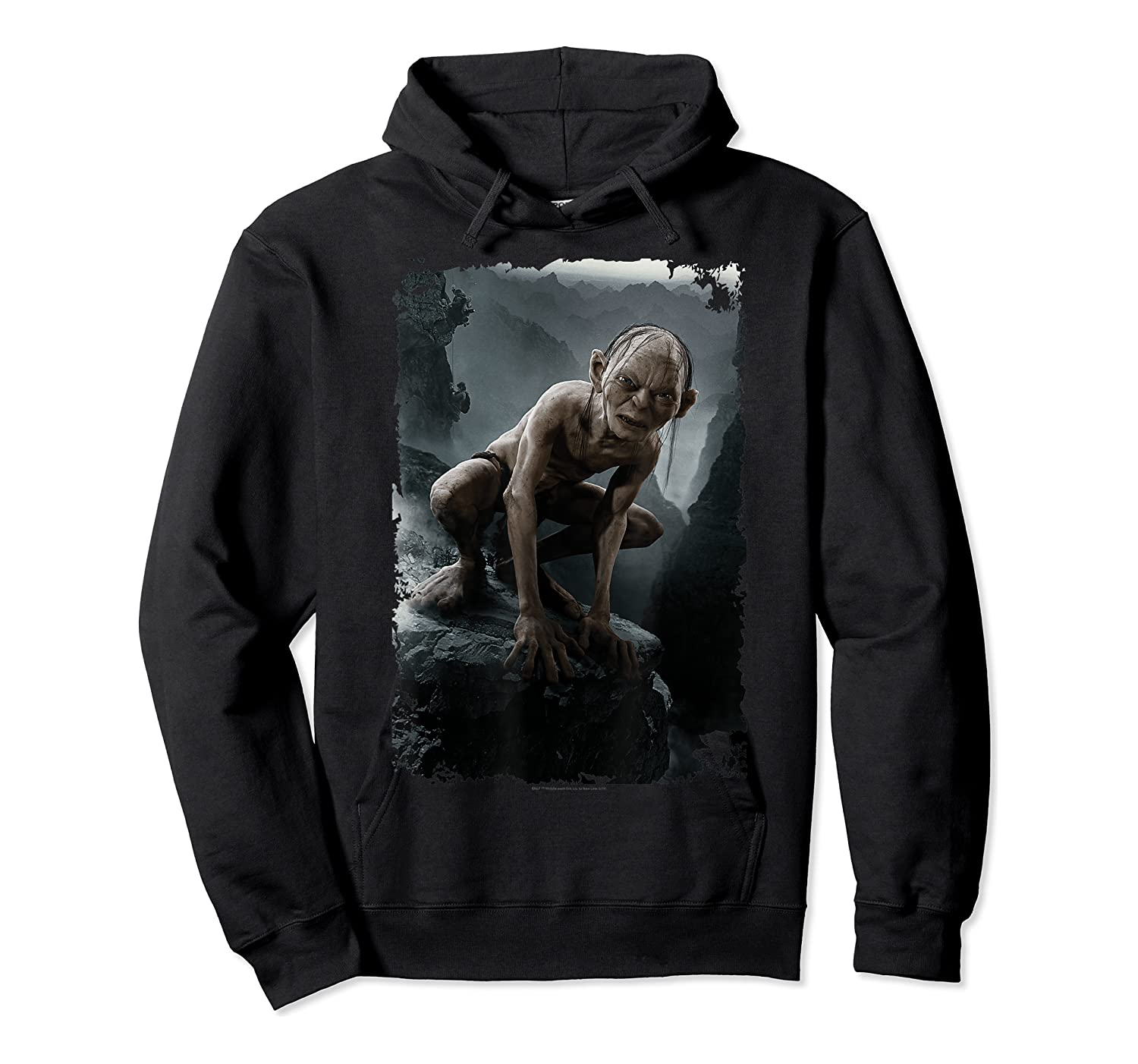 The Lord Of The Rings Gollum T-shirt Unisex Pullover Hoodie