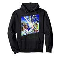 Star Wars The Empire Strikes Back The War Isn\\\'t Over Poster T-shirt Hoodie Black