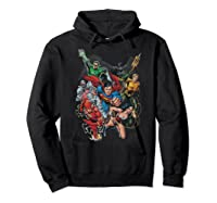 Justice League Refuse To Give Up Shirts Hoodie Black
