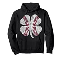 St Patrick\\\'s Day Shamrock Baseball Saint Paddy\\\'s T-shirt Hoodie Black