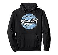 Tampa Bay Baseball Vintage Florida Ray Retro Gift Shirts Hoodie Black