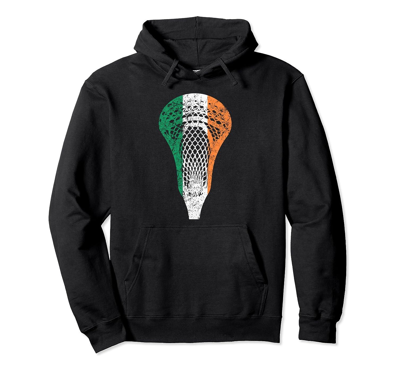 Irish Flag Ireland Lacrosse Hoodie