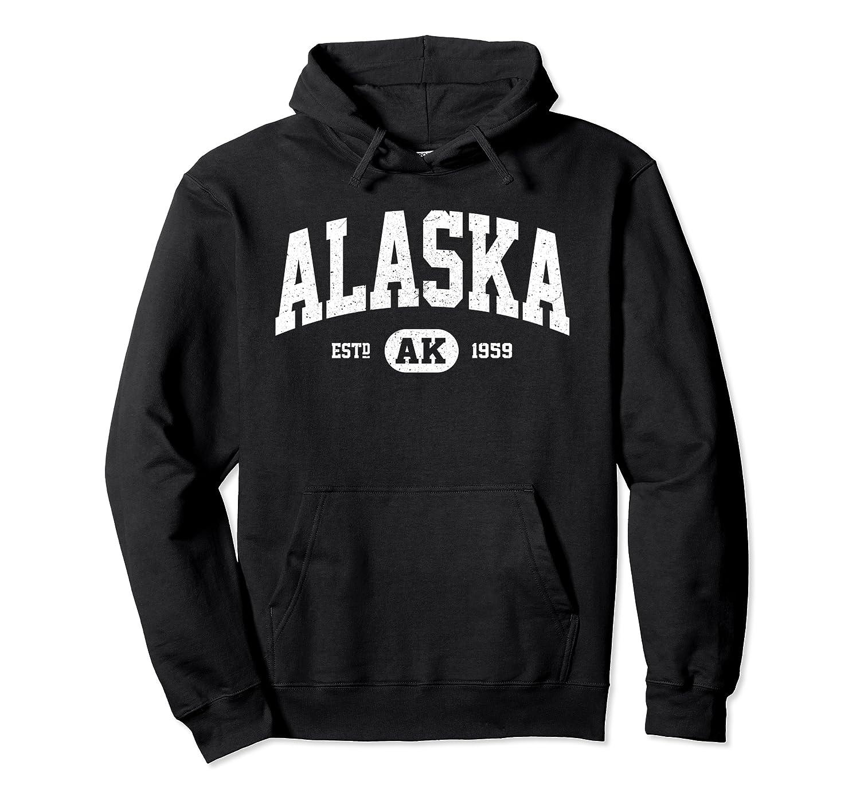 Alaska Sweatshirt Retro Vintage Alaska Hoodie Gifts