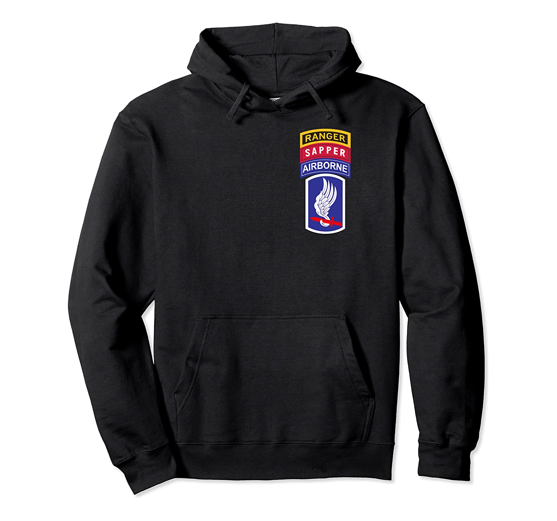 173rd Airborne Shirt – 173rd Ranger Sapper Shirt Pullover Hoodie