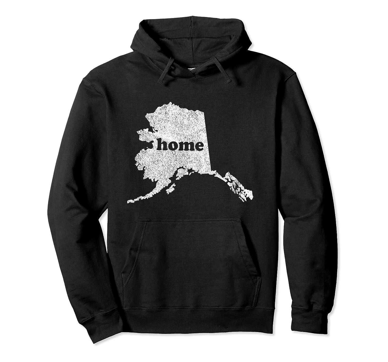 Alaska Is Home Hometown Pride Roots Native Alaskan Pullover Hoodie