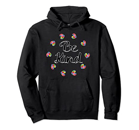 Be Kind – Autism Awareness Pullover Hoodie