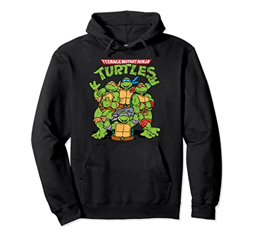 Amazon.com: Teenage Mutant Ninja Turtles - Sudadera con ...