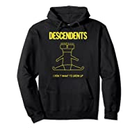 Descendents I Don't Want To Grow Up Merchandise Shirts Hoodie Black