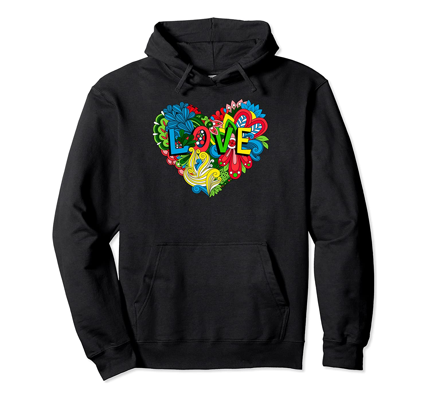 Amasing Blooming Heart In Love Happy Valentine's Day Gift Pullover Hoodie